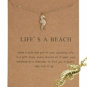 🏝️ Life's A Beach Gift Card Necklace